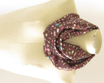 Brown Cheetah Scarf - Leopard Print Scarf - Animal Print Scarf