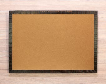 Cork Bulletin Board Pin board Corkboard pinboard message wood framed memo notice note pin cork board wall hanging empty clear