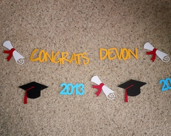 Class of 2018 Custom Graduation Banner - Choose Your Colors