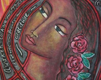 Divine Feminine Print-Magdalene
