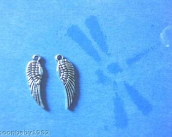 Angel Wings small 24 wings per lot 17mm