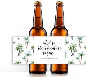 Wedding Bottle Labels Wedding Beer Printable Beer Bottle - Beer bottle label template