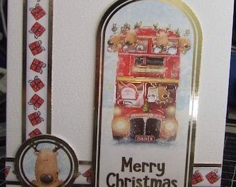 Small square christmas card
