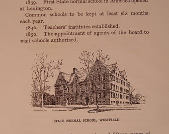A History of the Massachusetts Public School System, 1642 - 1903