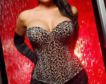 Meschantes Ready to Wear Contessa Overbust Corset - Your Size Choose from over 300 fabrics