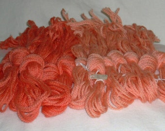 Vintage--PATERNAYAN Yarn in Salmon