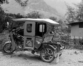 Best way to get around in Ollantaytambo, Peru.