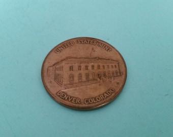 Denver Mint Souvenir Coin Medal Free Shipping