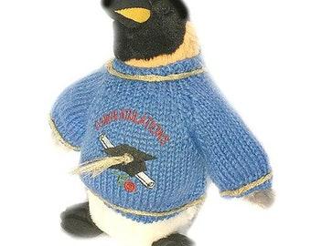 "Congratulations Penguin Plush Graduate (10"" Tall)"