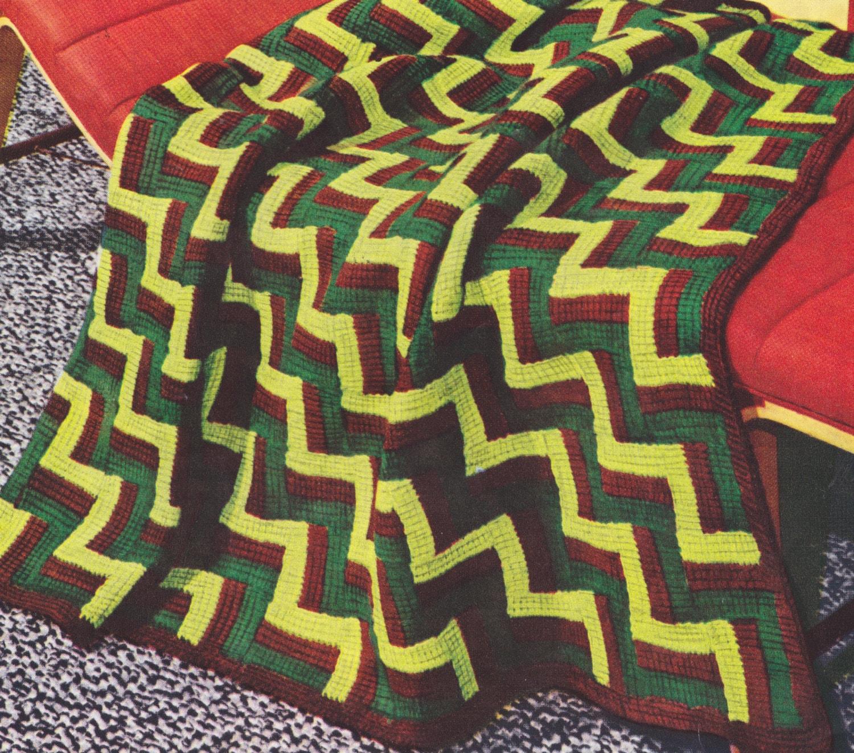 494 PDF Afghan Blanket Crochet Pattern, Motif Design, Matching ...