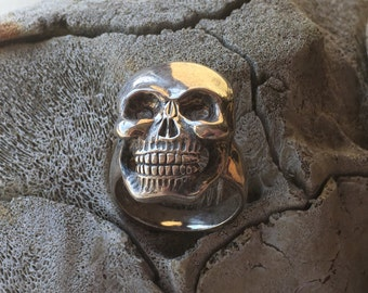Custom Made Skull Ring