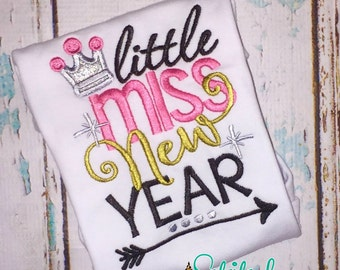 SHIPS FAST!!  Little Miss New Year