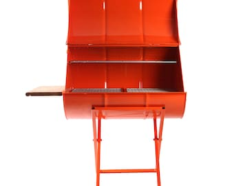 Upcycled Steel Drum BBQ