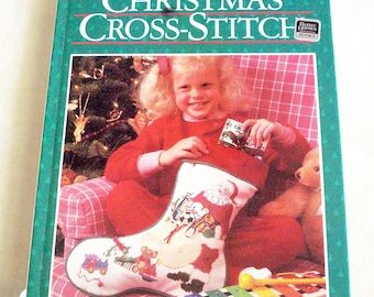 Christmas Cross Stitch, a Better Homes and Gardens Collection, a Hardcover Book