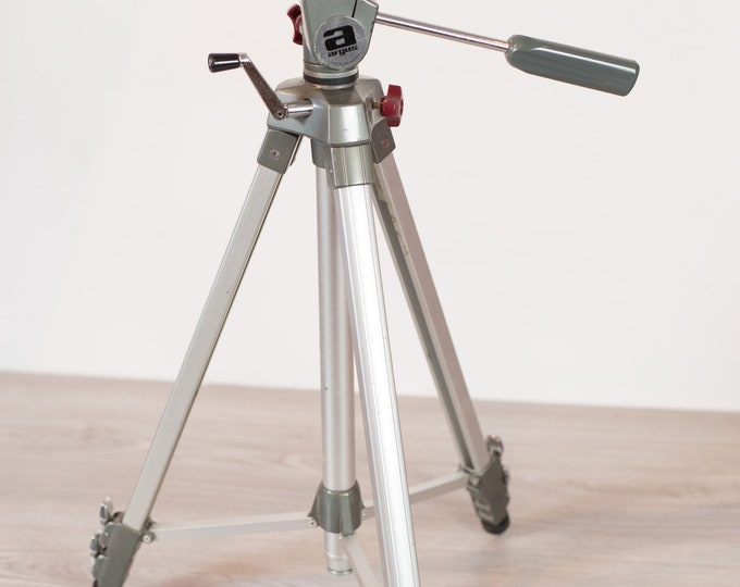 Lighting Tripod - Vintage Movie Camera Light Tripod - Argus Professional Tripod Model GD3500 - Made in Japan