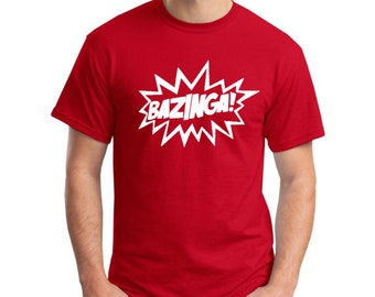 Big Bang Bazinga Burst T-Shirt
