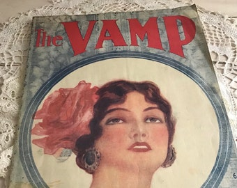 1919 The Vamp Sheet Music
