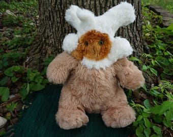 Snuffle-Wop, Frankenfuzzies. Soft sculpture. Stuffed animal. Toy
