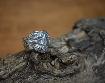 Floral Spoon Ring