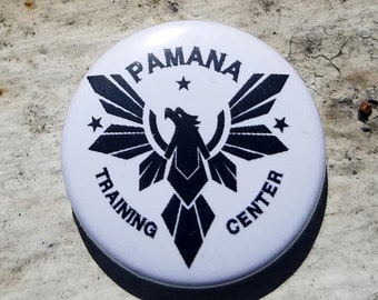 Pamana Training Center 1 Inch Button