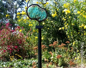 metal sculpture, metal art, outdoor sculpture, home decor , outdoor metal sculpture, garden sculpture, garden art, opal, abstract