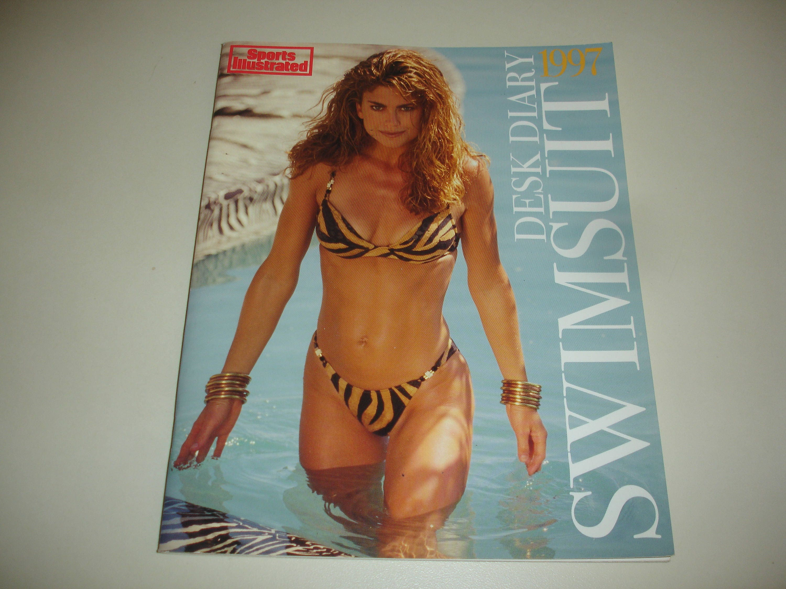 Sports Illustrated 1997 SWIMSUIT Desk DiaryKathy
