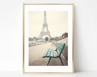 Paris photography, Paris wall art, Eiffel tower art, Eiffel tower print, extra large wall art, framed wall art canvas art, Paris decor