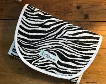 Universal Pram Liner, Stroller Liner, Buggy Liner - 100% Cotton - Zebra
