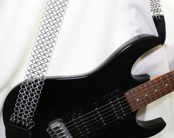 Chainmaille Guitarstrap Classic Rock