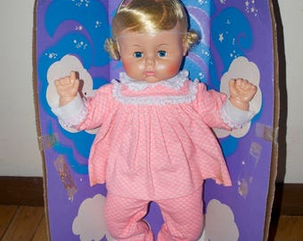 "Sleepy Large 21"" Baby doll by Horsman New in the Box NIB"