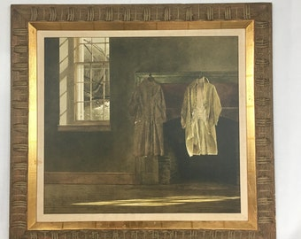 """Andrew Wyeth, """"The Quaker"""" Limited Edition Print by Triton"""