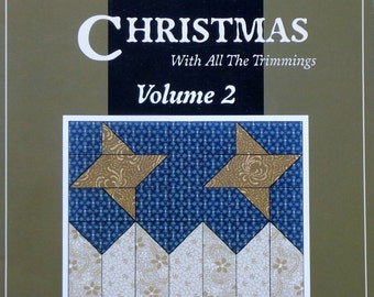 Thimbleberries | Quilt Book | HOMETOWN CHRISTMAS | Volume 2 | With All The Trimmings | Lynette Jensen
