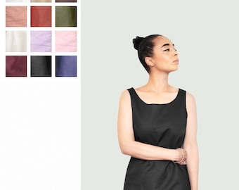Linen Tank - Available in many colours