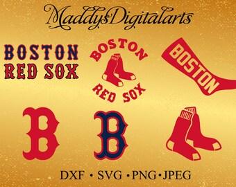 Boston Red Sox Baseball SVG, Boston Red Sox, Red Sox SVG, Baseball Clipart, Boston Red Sox
