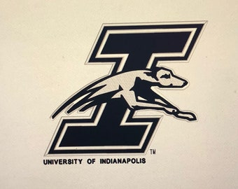 Embroidered Towel UI, University of Indianapolis approx 16x20 (your Choice of Design and Color)