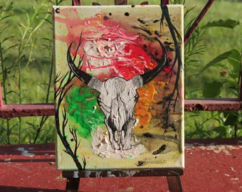 SALE! 8X10 Canvas Acrylic Painting