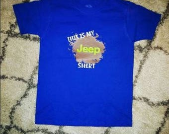YOUTH This Is My Jeep Shirt