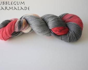 Painted Ladies Sock Yarn, BubbleBum Marmalade