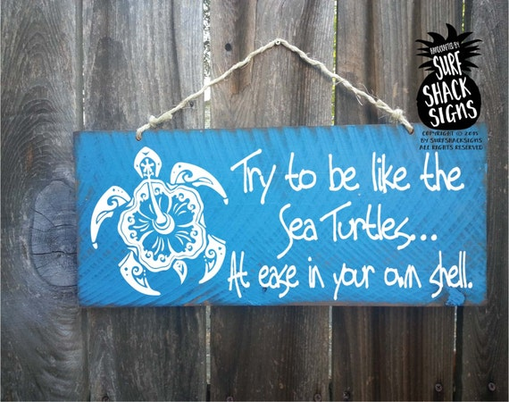 Sea Turtle Sea Turtle Sign Sea Turtle Decor Sea Turtle Wall