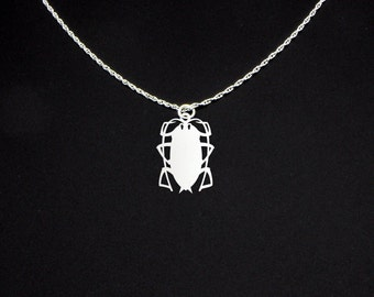 Cockroach Necklace - Cockroach Jewelry - Cockroach Gift