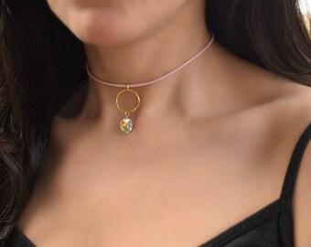 BDSM Day Collar, Submissive Collar, Slave Collar, Discreet Day Collar, O Ring Day Collar, bdsm Jewelry, BDSMCollar, BDSM Collar Necklace