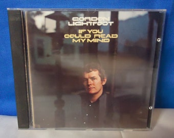 """032918 13 Used Gordon Lightfoot """"If You Could Read My Mind"""" CD Reprise 6392-2"""