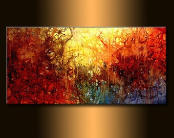 Abstract Art, Modern Painting, Original Abstract, Contemporary Art On canvas, Colorful abstract , Abstract wall art, Large Abstract Painting