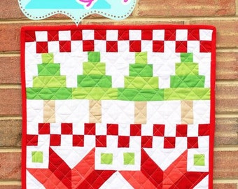 Quilt Story - Fair Isle Mini Quilt Pattern