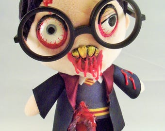 Creepy Cute Harry Potter Zombie Plush