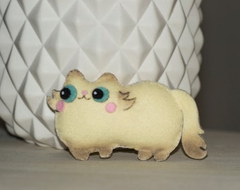 Mini cat plush felt