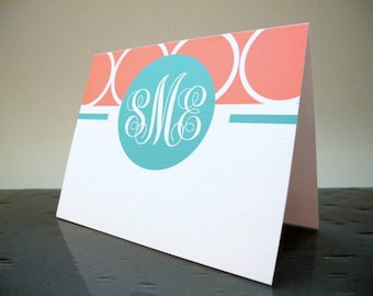 Personalized Stationery Set   Personalized Stationary   Monogram Stationery   Custom Stationary Set   Custom Note Cards