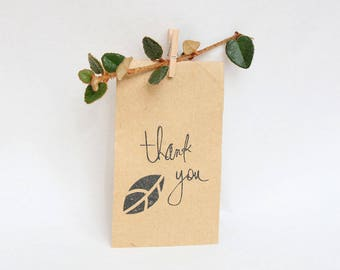 SEED PACKET mini bags, favour bags, seed bags, flower seed packet x 10