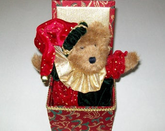 Retired Boyds Bear Jack B Twinkletune Musical Plays Clair De Lune and Moves