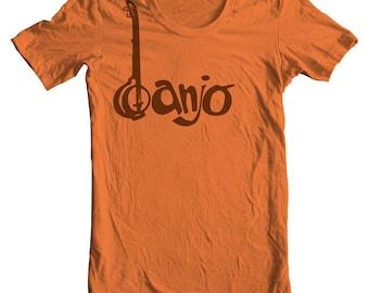 Banjo T shirt Banjo Musical Instrument Shirt Guitar Shirt Banjo Player Shirt Bluegrass Band Folk Music Festival Banjo Picker Plucking 5